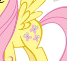 Flutter Shy Sticker