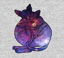 Galaxy Cat Cuddles Unisex T-Shirt