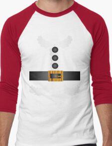 merry christmas cute Santa Claus  Men's Baseball ¾ T-Shirt