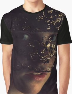 Veiled Allure Graphic T-Shirt