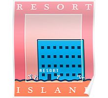 RESORT ISLAND TOURIST ITEMS - LISA THE PAINFUL RPG Poster