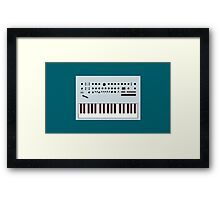 Minilogue Framed Print