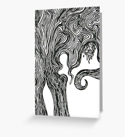 Willow Tree G Pollard Greeting Card