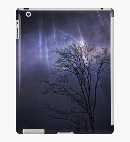Thunder Clouds iPad Case/Skin