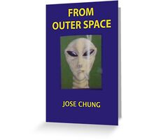 Jose chung from outer space x-files Greeting Card
