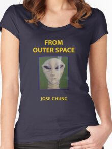 Jose chung from outer space x-files Women's Fitted Scoop T-Shirt