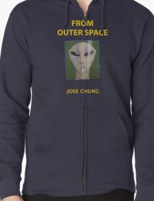 Jose chung from outer space x-files Zipped Hoodie