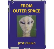 Jose chung from outer space x-files iPad Case/Skin