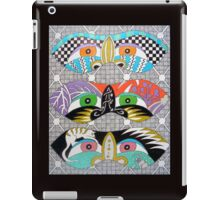 Masks iPad Case/Skin