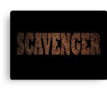 Scavenger (Rust) Canvas Print