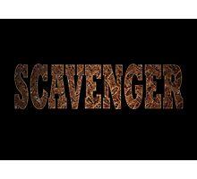 Scavenger (Rust) Photographic Print