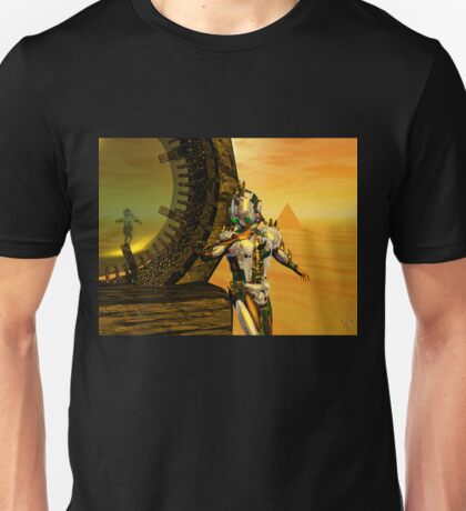 CYBORG TITAN IN THE DESERT OF HYPERION Sci-Fi Movie Unisex T-Shirt