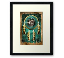 Coyote Totem--Trickster Framed Print