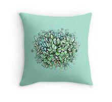 Succulent dream Throw Pillow