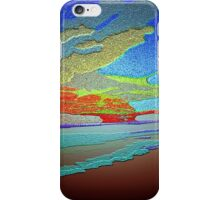 Abstract Art seascape and Sky iPhone Case/Skin