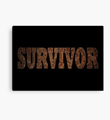 Survivor (Rust) Canvas Print