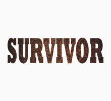 Survivor (Rust) Kids Tee