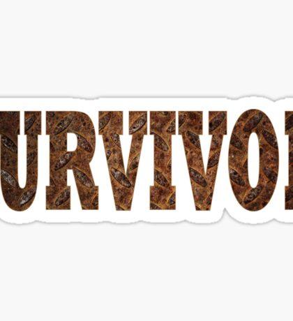 Survivor (Rust) Sticker