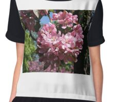 Cherry Tree Blossoms. Chiffon Top
