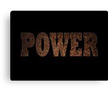 Power (Rust) Canvas Print