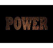 Power (Rust) Photographic Print