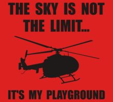 Sky Playground Helicopter One Piece - Short Sleeve