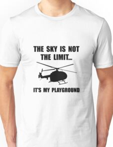 Sky Playground Helicopter Unisex T-Shirt