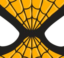 Spiderman yellow logo sticker Sticker
