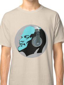 Lenin with Headphones Classic T-Shirt