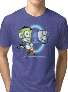 The Cupcake is a Lie Tri-blend T-Shirt