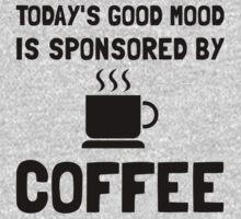 Sponsored By Coffee Kids Tee