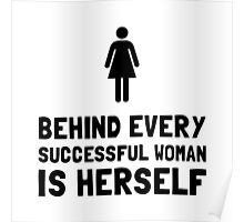 Successful Woman Poster