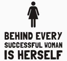 Successful Woman Baby Tee