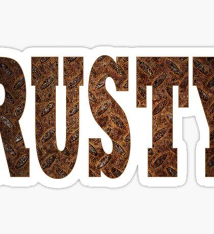 Rusty Sticker