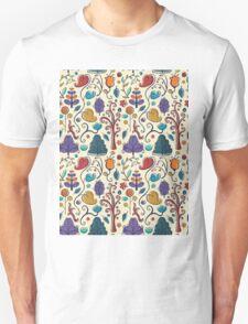 Plant Pattern Color  Unisex T-Shirt