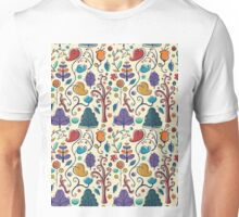 Plant Pattern Color  Unisex T-Shirt