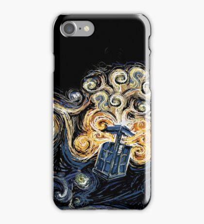 Doctor Who- Van Gogh Tardis iPhone Case/Skin