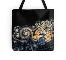 Doctor Who- Van Gogh Tardis Tote Bag