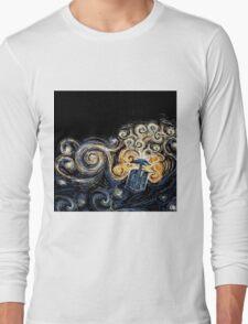 Doctor Who- Van Gogh Tardis Long Sleeve T-Shirt