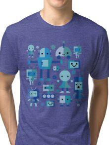 Robot Cuties Tri-blend T-Shirt