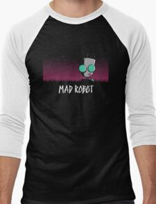 Mad Robot Men's Baseball ¾ T-Shirt