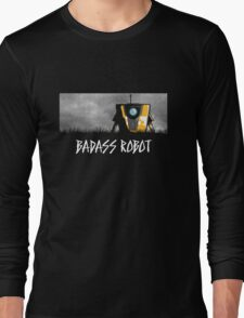 Badass Robot Long Sleeve T-Shirt