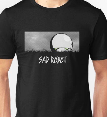 Sad Robot Unisex T-Shirt