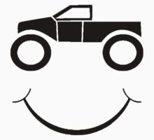 Truck Smile One Piece - Short Sleeve