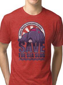 Save the Sea Slug Tri-blend T-Shirt