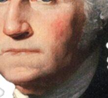 George Washington Bust Sticker