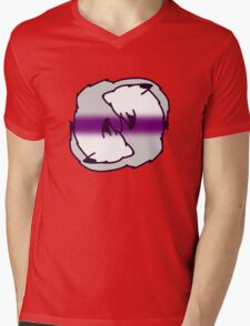 Demi Cuddles Mens V-Neck T-Shirt