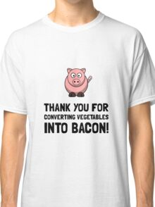 Vegetables Bacon Classic T-Shirt