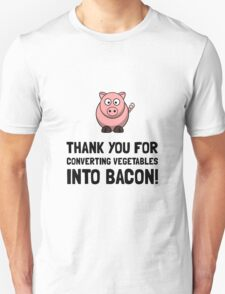 Vegetables Bacon T-Shirt
