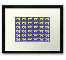 servals Framed Print